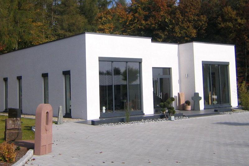 Ausstellungshalle Steinmetzbetrieb