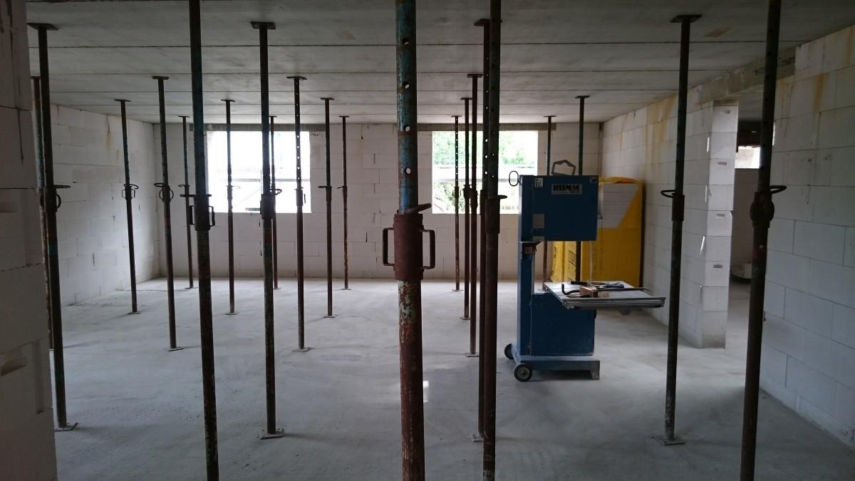 Montagestützen Betondecke