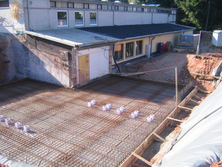 Bodenplatte Betonkeller