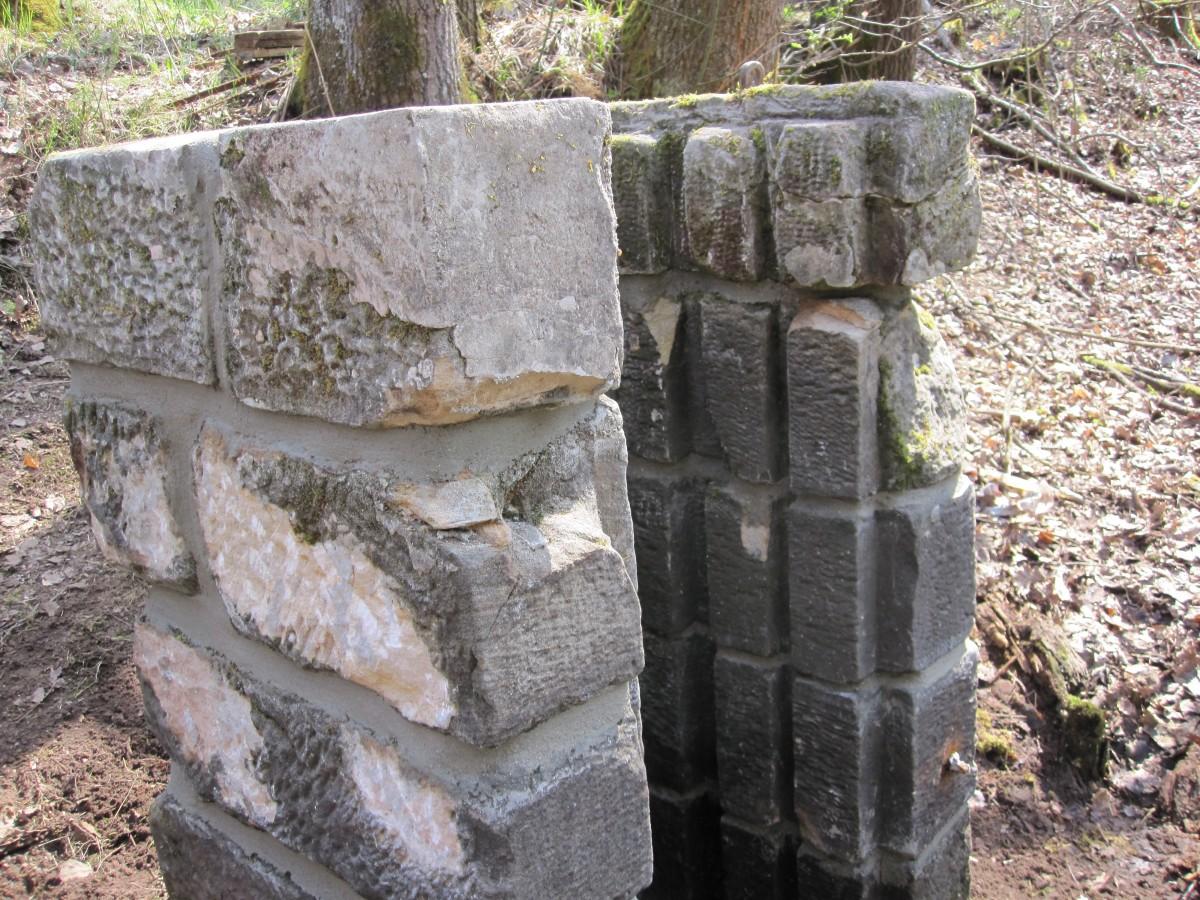 Mönch Bruchsteinmauerwerk