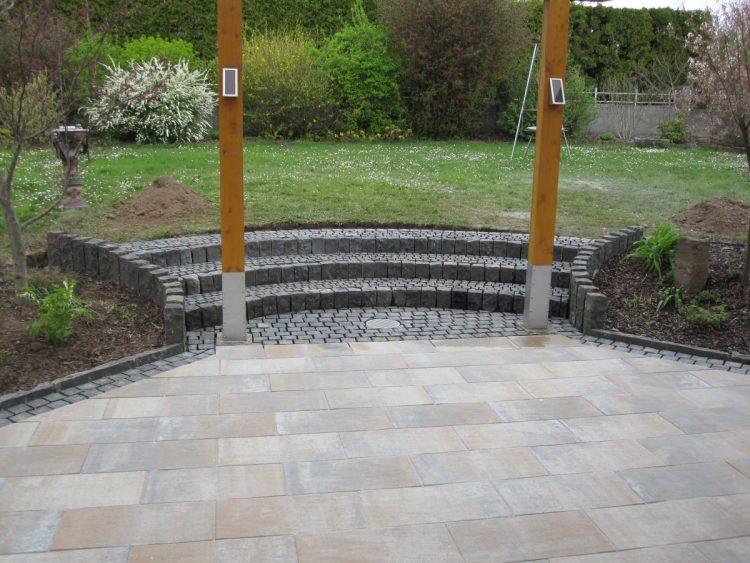 Terrasse Betonplatten